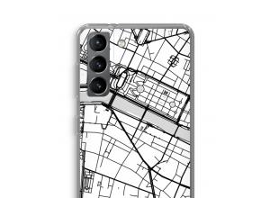 Bringen Sie einen Stadtplan auf Ihr Galaxy S21 case