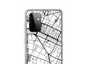 Bringen Sie einen Stadtplan auf Ihr Galaxy A72 5G case