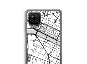 Bringen Sie einen Stadtplan auf Ihr Galaxy A12 case
