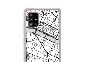 Bringen Sie einen Stadtplan auf Ihr Galaxy A51 5G case