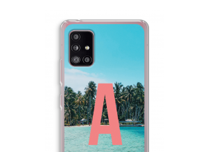 Machen Sie Ihr eigenes Galaxy A51 5G monogram case