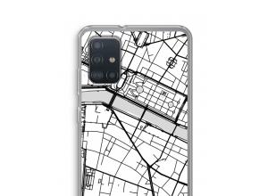 Bringen Sie einen Stadtplan auf Ihr Galaxy A52 case
